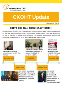 CK OHT Newsletter December 2020